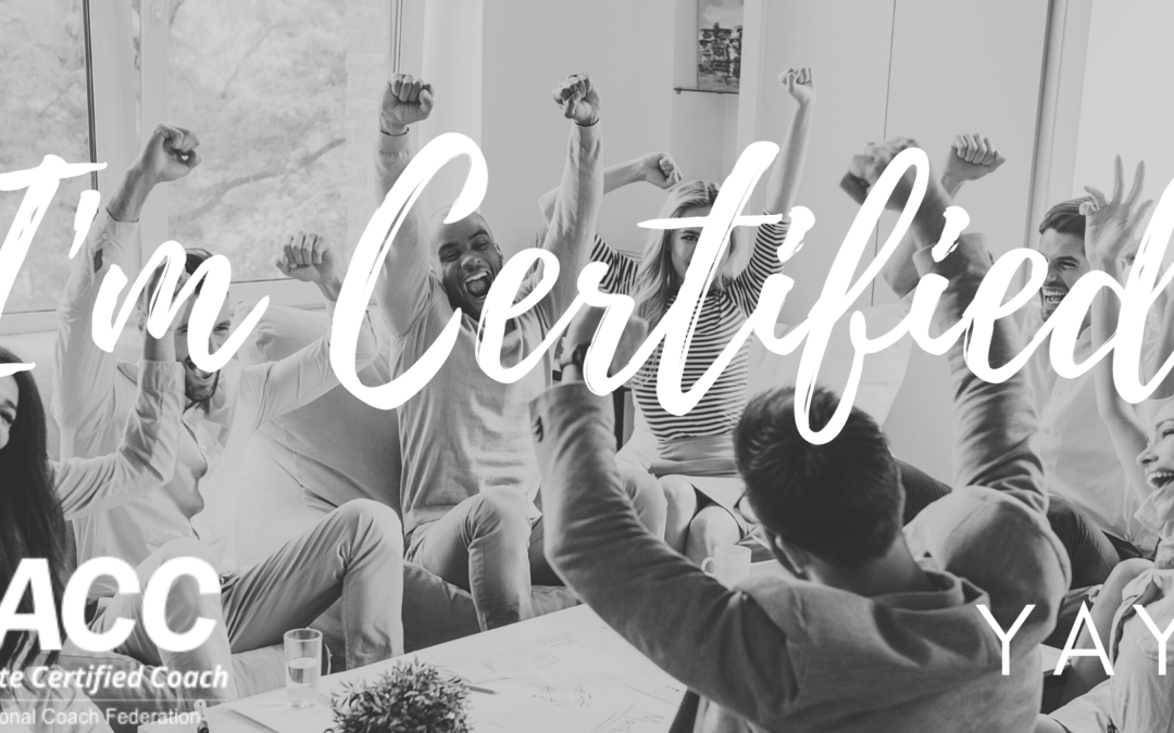Why I became a certified coach with ICF